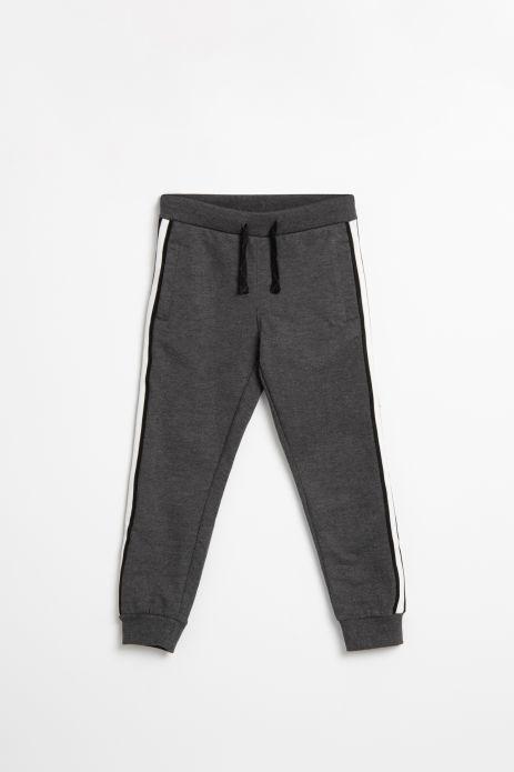 Spodnie dresowe ze ściągaczami przy nogawkach