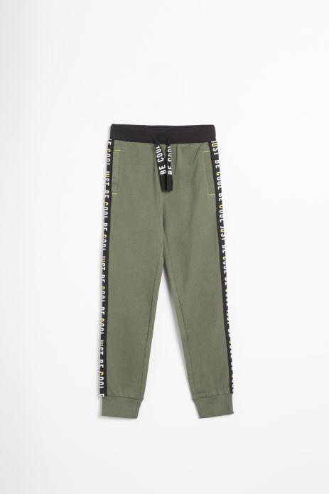 Spodnie dresowe w kolorze khaki