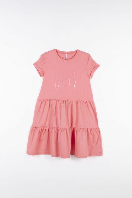 Šaty zo spojovaných tkanín