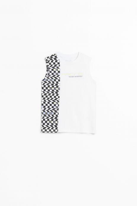 Tričko bez rukávov