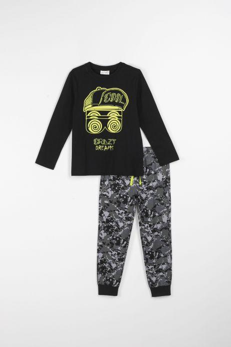 Chlapčenské pyžamá svietiace v tme