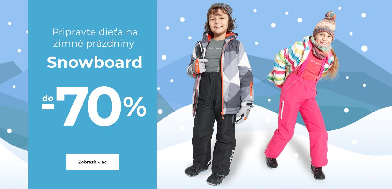 Snowboard do -70%